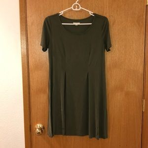 Green urban outfitters dress!